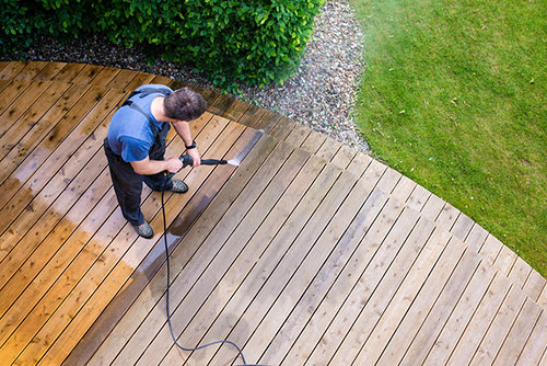 Power Washing Decks